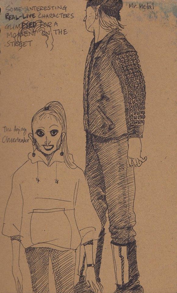 NY Sketch 1997 - 1