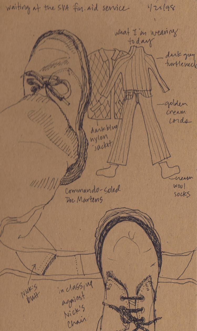 NY sketch 32 - 1997 #waybackmachine