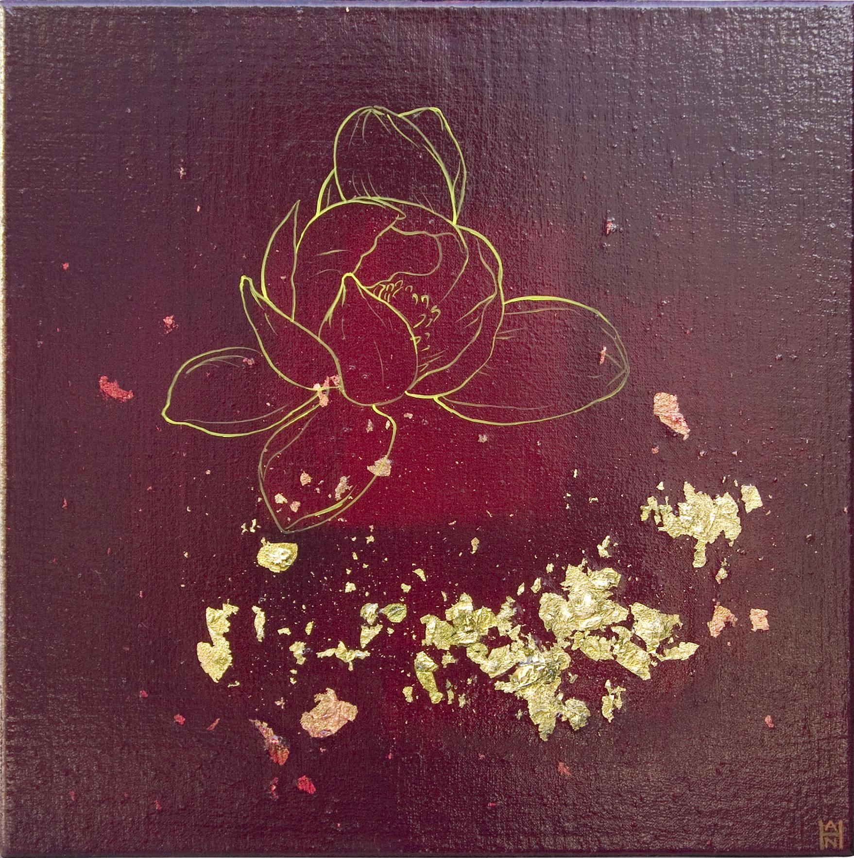 """Fragments 3, acrylic on canvas, 12"""" x 12"""", $300"""